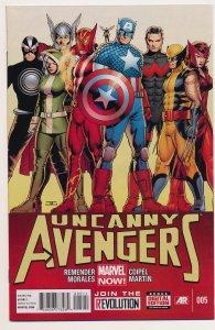 Uncanny Avengers (2012) #5 NM