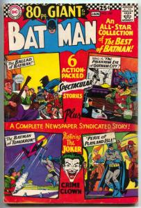 Batman #187 1967- 8- page Giant- DC comics FN