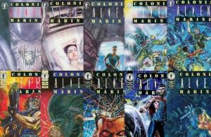 ALIENS COLONIAL MARINES (1993 DH) 1-10  COMPLETE!!! COMICS BOOK