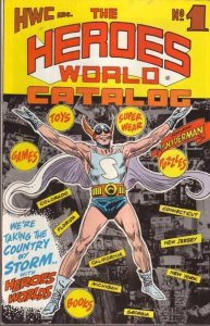 Heroes World Catalog, The #1A VG; Superhero Enterprises | low grade comic - save
