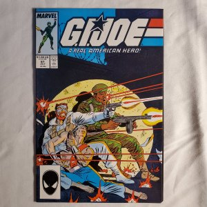 GI Joe 61 Good- Cover by Mike Zeck
