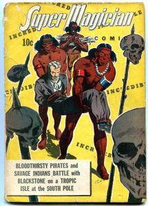 Super Magician Vol 2 #6- Classic Skull cover- Blackstone F/G