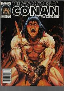 Savage Sword of Conan #159 (Marvel, 1989)