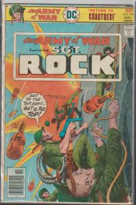 OUR ARMY AT WAR FEATURING SGT. ROCK #298 DC WAR COMIC - 1976