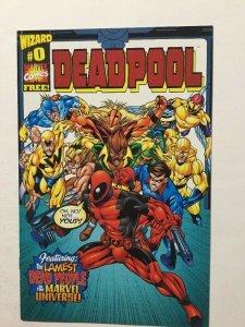 Deadpool 0 The Lamest Nm Near Mint