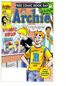 6 Archie Comics Free Comic Book #2 Halloween ComicFest Summer Splash 1... MS10