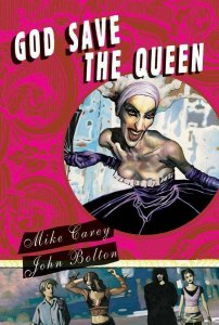 God Save the Queen + The Green Woman HC 50% off! John Bolton painted art!