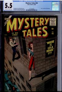 Mystery Tales #46 CGC 5.5  2ND CITY COLLECTION Al Williamson, Krenkel, Crandall