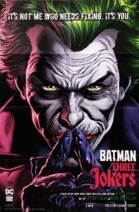 Batman Three Jokers #2 Folded Promo Poster (24 x 36) New! [FP41]