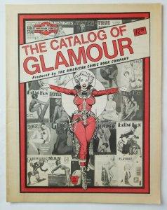 American Comic Book Company Glamour Price List '70s Catalog Very Fine High Grade