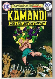 KAMANDI #17, FN, Jack Kirby, Last Boy on Earth, 1972, more JK in store