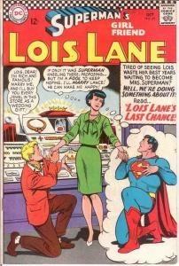 LOIS LANE 69 VF  October 1966 COMICS BOOK