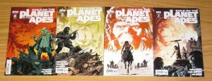 Exile on the Planet of the Apes #1-4 VF/NM complete series - all A variants set