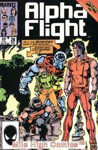 ALPHA FLIGHT (1983 Series)  #28 Near Mint Comics Book