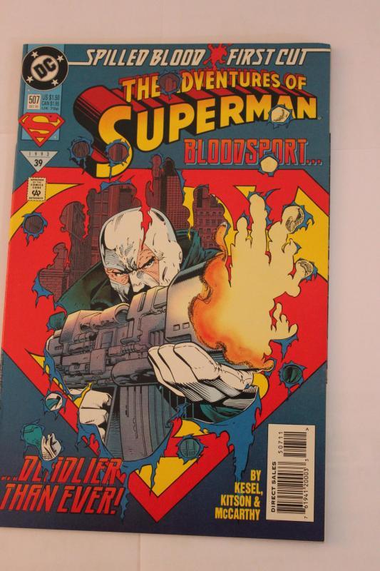 Adventures of Superman 507 9-4-nm