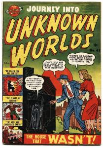 JOURNEY INTO UNKNOWN WORLDS #41 1955-ATLAS-BASIL WOLVERTON-CANADIAN