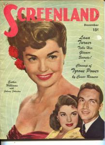 ScreenLand-Esther Williams-Johnny Johnston-Cesar Romero-Dec-1947