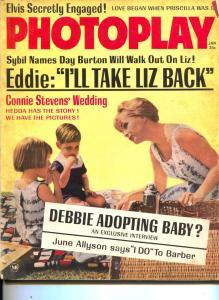 Photoplay-Debbie Reynolds-June Allyson-Natalie Wood-Jerry Lewis-Jan-1964