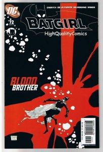 BATGIRL #72, NM+, Good Girl, Blood Matters, 2000, more in store