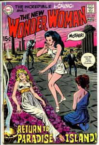 WONDER WOMAN #183 1969-DC COMICS--PARADISE ISLAND-- VG-