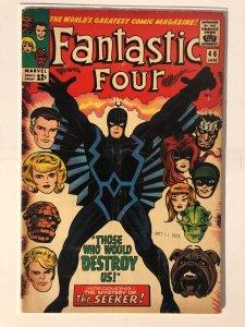 Fantastic Four #46 - 1st Full Appearance of Black Bolt