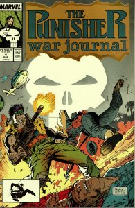 Punisher War Journal #4 - NM - 1st Series