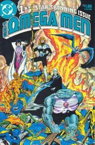 Omega Men (1982 series) #1, NM- (Stock photo)