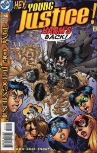 DC YOUNG JUSTICE (1998 Series) #14 VF+
