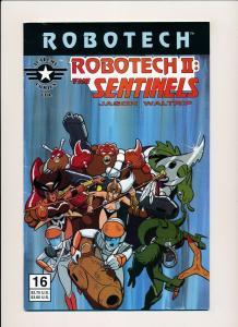 ROBOTECH II : The Sentinels Book III #16 Academy Comics Ltd. 1996 ~ FN (PF344)