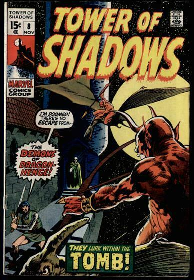 TOWER OF SHADOWS 8 VG+ DITKO,WOOD,WRIGHTSON CVR COMICS BOOK