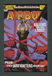 Airboy #13  /  8.0 VFN  / January 1987