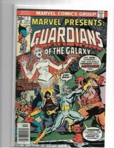 MARVEL PRESENTS #7 - NM- - GUARDIANS OF THE GALAXY - BRONZE AGE KEY