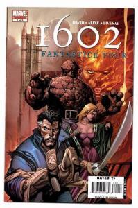 1602 : FANTASTICK FOUR #1 2 3 4 5, NM, Fantastic, Alixe, 2007, Marvel , 1-5 set