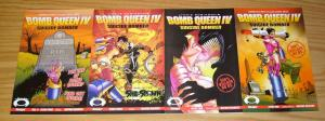 Bomb Queen IV Suicide Bomber #1-4 VF/NM complete series - bad girl - robinson