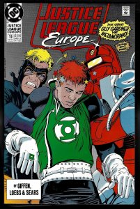 Justice League Europe 11 NM+ 9.6 1990 DC Uncertified FREE SHIP