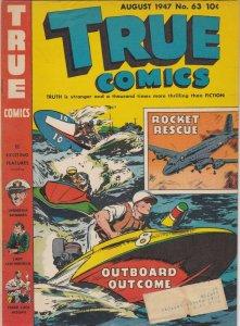 True Comics 63 FN- (Aug. 1947)