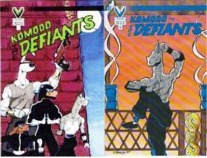KOMODO AND THE DEFIANTS(VI)  1-2  COMPLETE...!?!