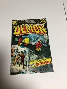 The Demon #2 Kirby Dc Fn-Vf Fine - Very Fine 6.0-8.0