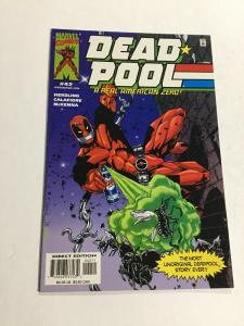 Deadpool 42 Nm Near Mint G.I. Joe Cover Swipe Marvel
