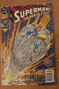 Superman the Man of Steel 13 G