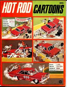 Hot Rod Cartoons #5 1965-Petersen-Don Garlits-Alex Toth-NASCAR parody-FN-
