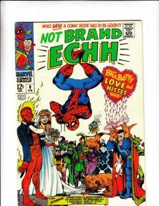 Not Brand Echh #6 (Jan-68) FN/VF Mid-High-Grade Thor, Hulk, Captain America