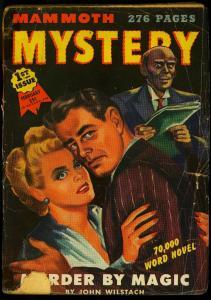 Mammoth Mystery Pulp #1 February 1945- Robert Bloch- Bruno Fischer G+