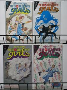 TROUBLE WITH GIRLS (1993 EPIC) 1-4 Night Of The Lizard COMICS BOOK