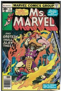 MS MARVEL 6 VG-F  June 1977
