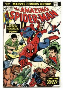 AMAZING SPIDER-MAN #140 1975 MARVEL COMICS-GRIZZLY-high grade VF+