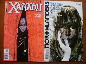 2 VERTIGO Comic: MADAME XANADU #1 (2008) & NORTHLANDERS #22 Plague Widow (2010)