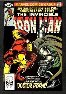 Iron Man #150 FN/VF 7.0 Doctor Doom! Marvel Comics