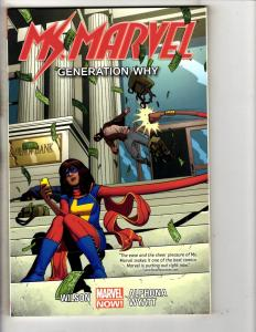 Ms. Marvel Vol. # 2 Generation Why Marvel Comics TPB Graphic Novel Comic J287