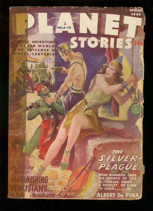 PLANET STORIES-SPG 1945-PARKHURST COVER-ANDERSON G / HipComic